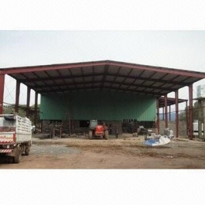 Pre-Engineering Structural Steel Buildings with Shed
