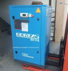BK11-8 15HP 60CFM/8BAR Belt Connecting Rotary Screw Air Compressor pictures & photos