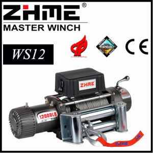 12000lbs 4X4 12V Electric Winch with Wire Rope pictures & photos