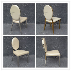 Gold Modern Stainless Steel Dining Chair (YCX-SS26-02) pictures & photos