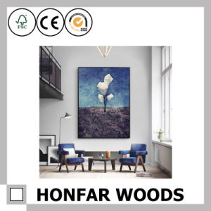 Black Wood Painting Poster Frame for Hotel Decoration