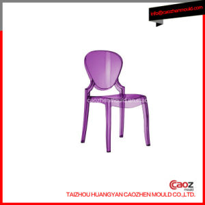 Plastic Hot Sale Transparent Armless Chair Mould in China