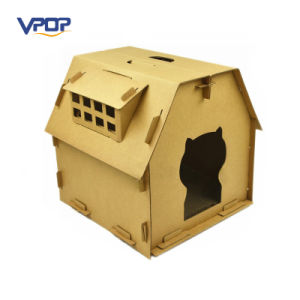 Hot Selling Corrugated Paper Board Cat Cardboard House