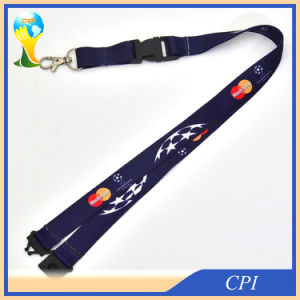 Promotional Custom Made Sublimation Lanyard with Plastic Buckle