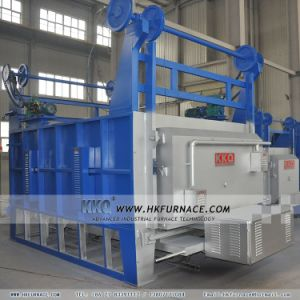 Double Door Bogie Hearth Furnace with High Production Rate pictures & photos