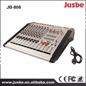 Jb-806 12 Channel PRO Audio Sound System Console Mixer pictures & photos