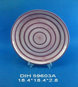 Round Ceramic Candy/Cookie/Pie Plate pictures & photos