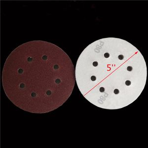115mm X 25m Hook & Loop Sandpaper Roll P60 pictures & photos