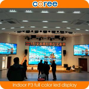 Indoor High Definition SMD P4 Full Color LED Display Screen pictures & photos