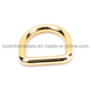 Gold Color Metal D Ring for Purse
