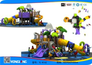 Outdoor Playground--Music Series, Children Outdoor Slide Combine Passion (YL-K162) pictures & photos
