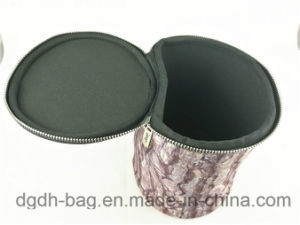 Round Type High Quality Neoprene Cosmetic Case/Bag pictures & photos