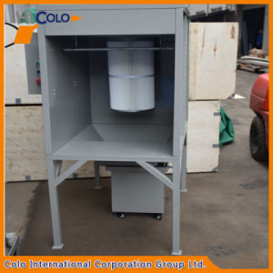 Portable Powder Coating Spray Booth for Car Wheels pictures & photos