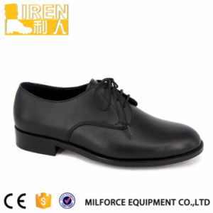Hot Sell Cheap Price Black Safety Officer Army Shoes pictures & photos