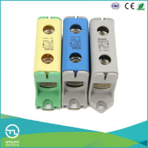 Large Conductor Connectors DIN Rail Distribution Block Jut10-150 pictures & photos