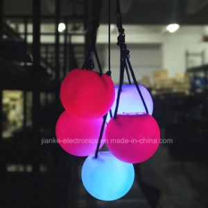 Multicolor LED Flashing Light Poi Ball with Logo Printing (3560)