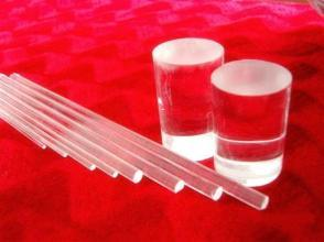 All Size Round Quartz Rod of High Quality and High Purity for Semiconductor and Solar Energy pictures & photos