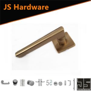 Stainless Steel 304 PVD Rose Gold Finished Door Handle