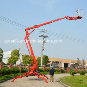 12m Trailer Mounted Boom Lift Kd-P12 pictures & photos