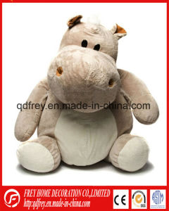 Hot Baby Promotion Gift Toy of Cartoon Cow, Hippo Toy pictures & photos