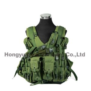 Tactical Gear Combat Soft Safety Military Vest Digital Camo (HY-V051) pictures & photos
