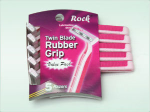 Twin Blade Disposable Razor (KD-52007L for Lady) pictures & photos