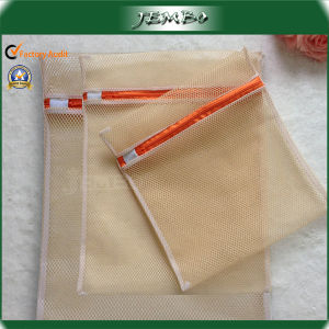 Promotion Big Hole Net Mesh Laundry Bag with Zipper pictures & photos