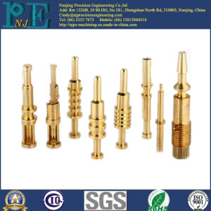 OEM Custom Made CNC Machining Brass Lighting Components