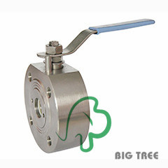 Wafe Type Stainless Steel Ball Valve pictures & photos