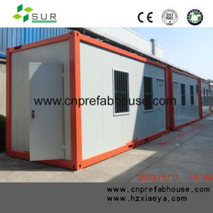 Waterproof Prefab Two-Storey Container House pictures & photos