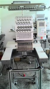 Single Head Tubular Embroidery Machine for Cap/ Flat/T-Shirt /Cross-Stitch Embroidery, Work in Home, Shop, for Small Business