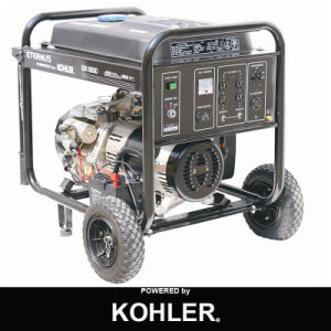 Open Flame Italy Design Three Phase Gasoline Generator (BK6500) pictures & photos