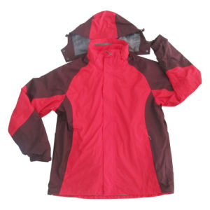 Adult Water-Proof and Wind-Proof Hardshell Sport Outerwear (HS16001)