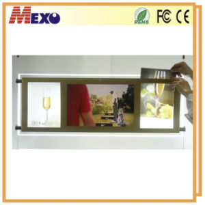 Hanging Style Acrylic LCD Player Remote Control Light Boxes pictures & photos