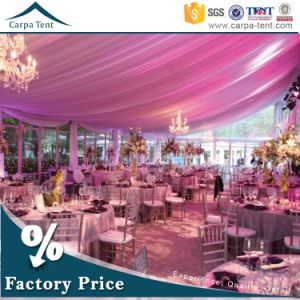 Wholesale White Luxury Wedding Party Canopy Tent with Linings and Curtains pictures & photos