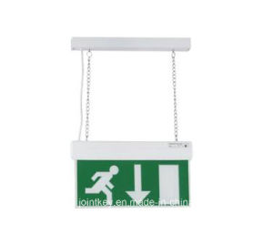Self Test Maintained Double Sided LED Emergency Exit Sign Light