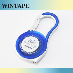 Blue Carabiner Meter Mini Steel Tape Measure 2m 1m (MST-037) pictures & photos