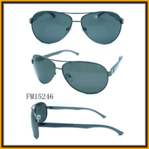 Metal Sunglasses China Factory (FM15246) pictures & photos