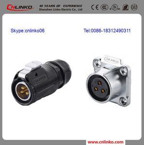 China 240v Waterproof Circular Power Ip68 3 Pin Male Female Wire