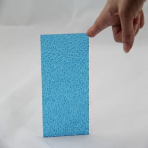 Waterproof Colorful Polycarbonate Embossed Solid Sheet 2.5mm
