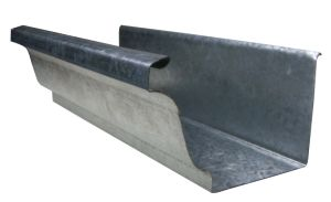 Extra Thick Galvanized Rain Gutters for USA Market pictures & photos