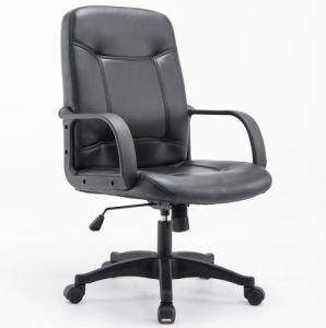 Moveable Design Cheap PU Chair furniture Swivel Lift Office Chair pictures & photos