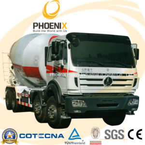 Professional Beiben North Benz Concrete Mixer Truck (6X4) with Mercedes Benz Technology pictures & photos