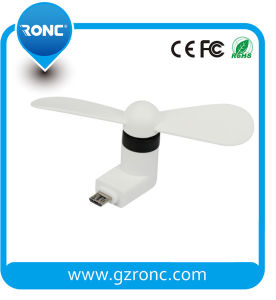 Promotional Gift 2 in 1 Mini USB Fan for Mobile Power Supply pictures & photos
