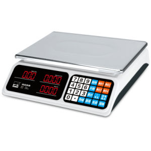White Digital Price Weighing Balance (DH~686) pictures & photos
