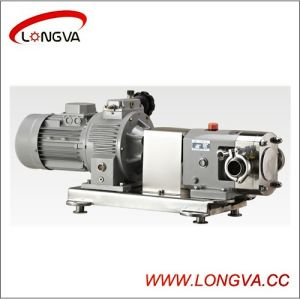 Sanitary Stainless Steel Rotary Lobe Pump pictures & photos