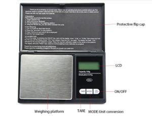 0.01g High Senstive Electronic Pocket Scale pictures & photos