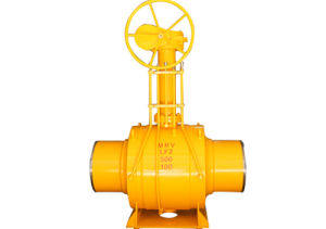 Carbon Steel Gas Welded Ball Valve