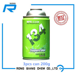 Refrigerant Gas R134A 3 PCS of Can Which Accept OEM Brand
