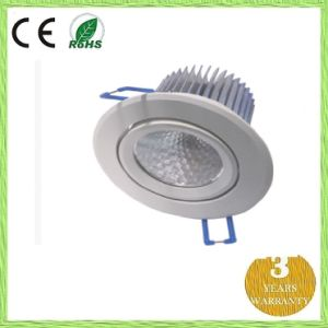 7W LED Down Light with Fin